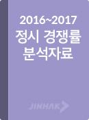2016 VS 2017 정시경쟁률 & 수시이월 분석 (+ eB...